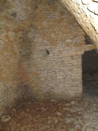 La cabane de la Roque intérieur