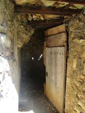 Porte de la cabane