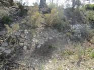 Construction typique de la voie de Valdonne
