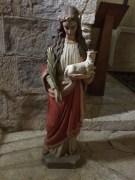 Statue à l'intérieur de l'église