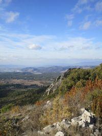 La montagne de Vautubière à partir de Rians