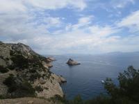 Sentier du littoral de la Côte Bleue entre la Redonne et Niolon