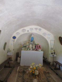 intérieur chapelle