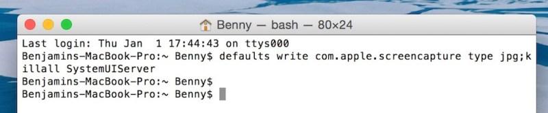 OS X Yosemite Screenshot Dateiformt