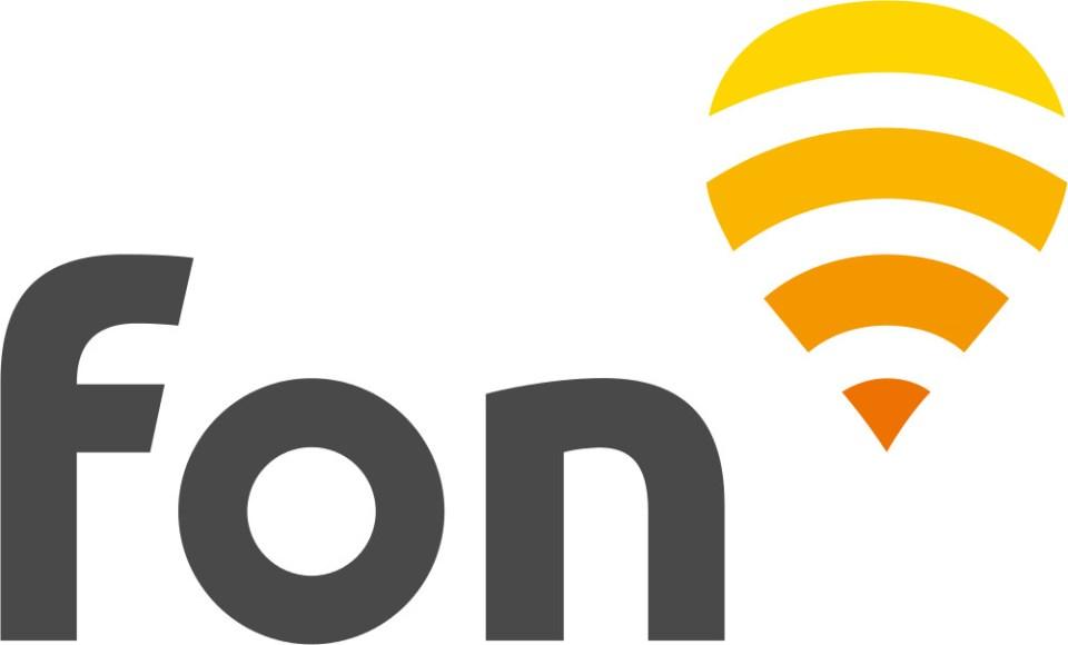 Das neue Fon Logo (Bild: Fon.org).
