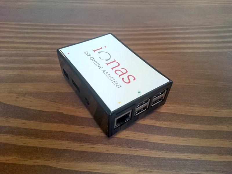 ionas-Server Home Raspberry Pi