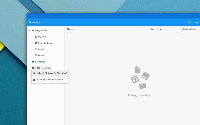 SMB-Freigaben unter Chrome OS nutzen