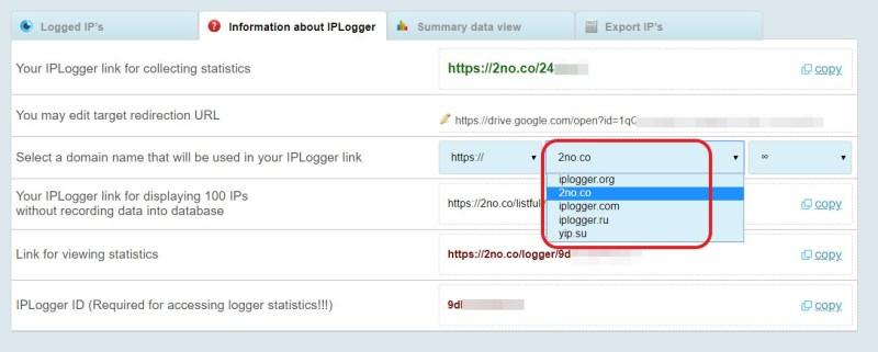 IP-Logger URL kürzen