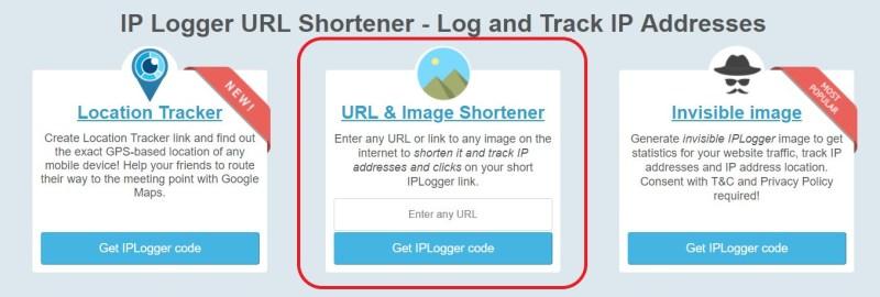 IP-Logger Webseite