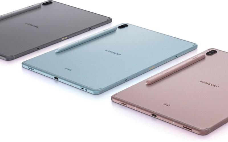 Samsung Galaxy Tab S6 Rückseite