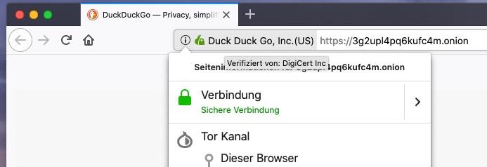 Tor-Browser Sicherheit