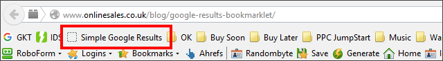 google results bookmarklet