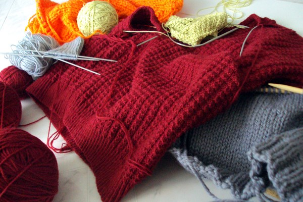 Knitting for 2 years
