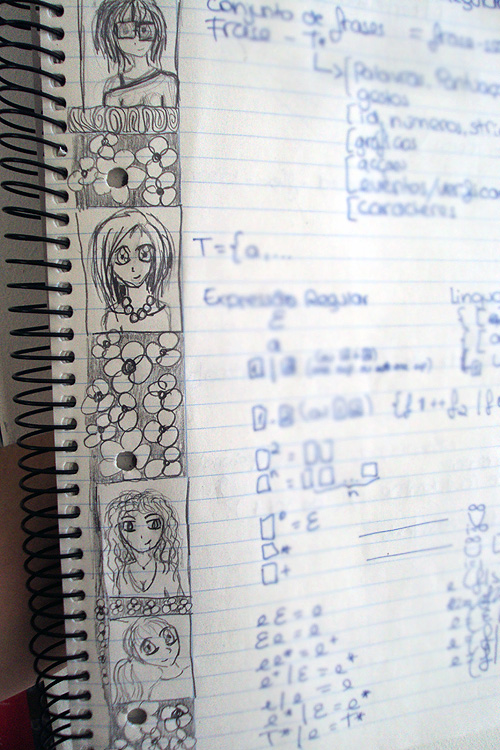 Doodles in Class I