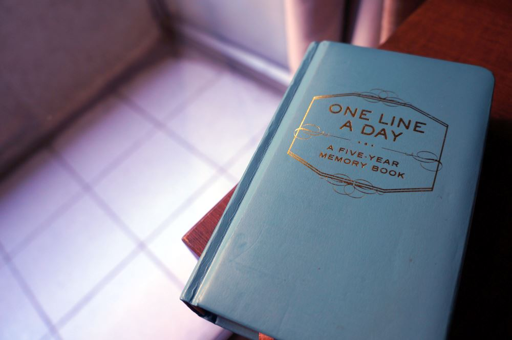 One Line a Day – Journaling Tips