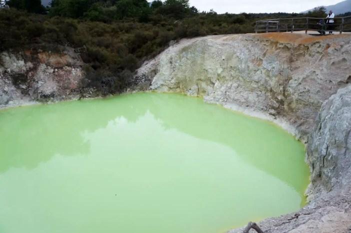 Devil's Bath - Wai-o-tapu Thermal Park