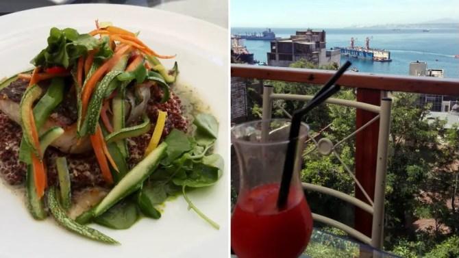 Valparaíso - Lunch at La Concepción