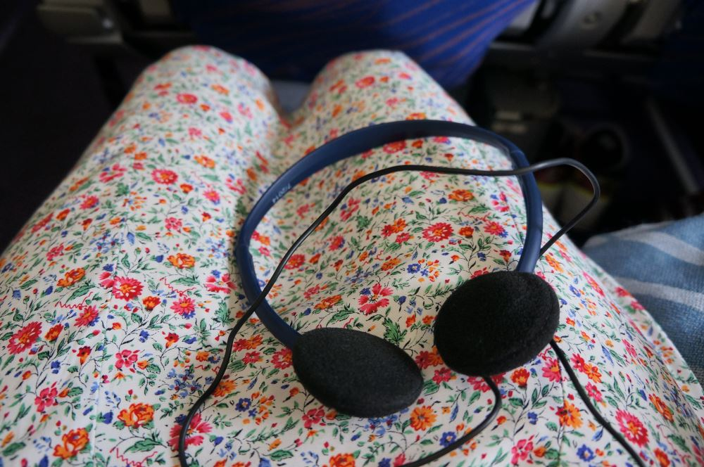 Airplane headphones