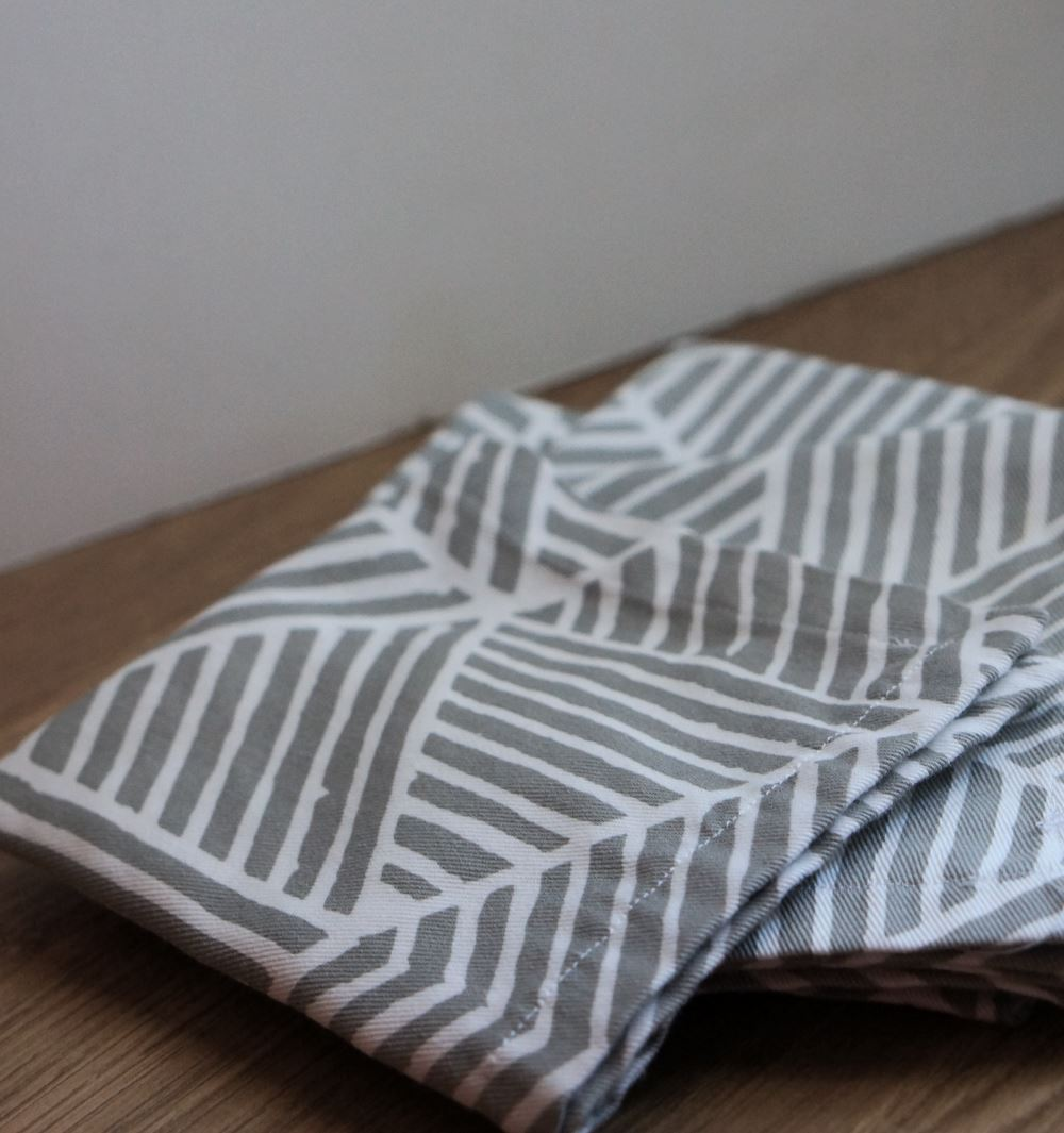 Costurar guardanapos de pano