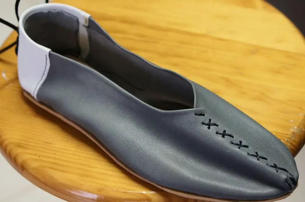 Sapato terminado