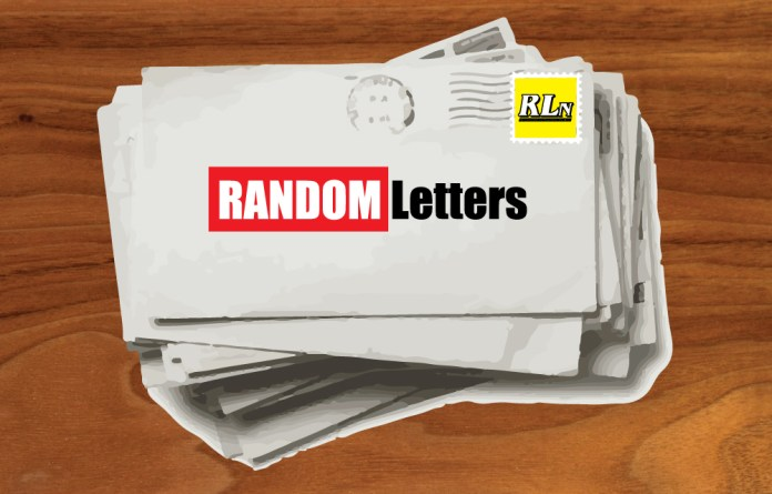 Random Letters: 8-6-20