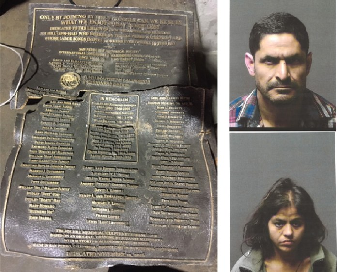 Historic Liberty Hill Plaque Thieves Arrested