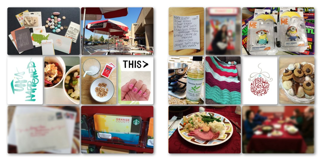 Digital Project Life Layouts: December 2014
