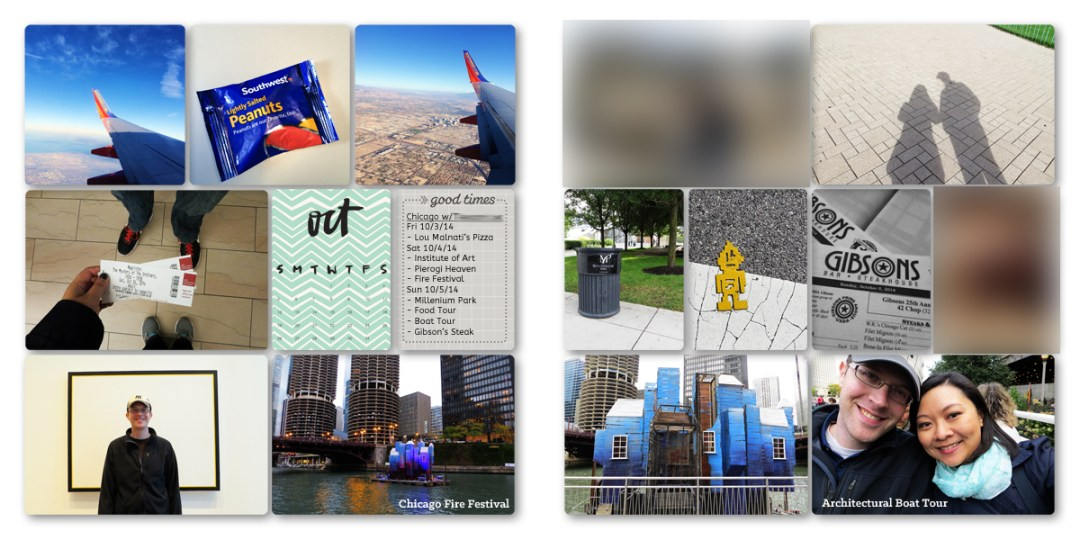 Digital Project Life Layouts: October 2014