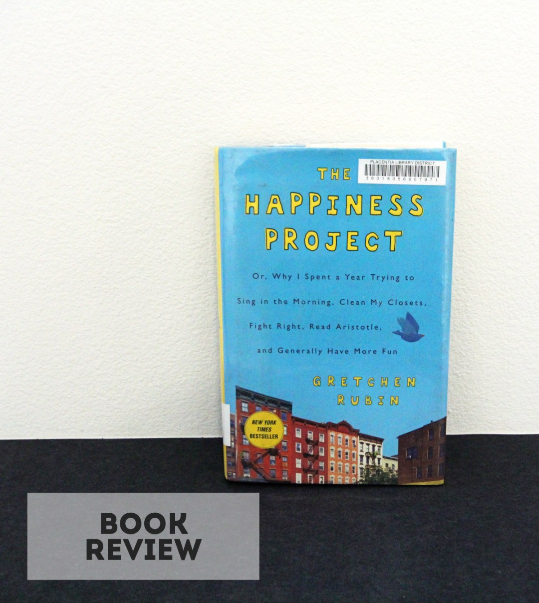 The Happiness Project Book Review - www.randomolive.com