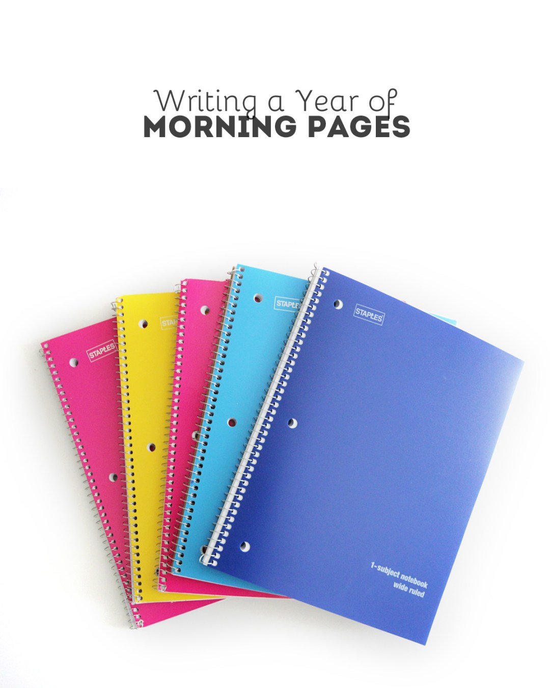 Morning Pages - www.randomolive.com