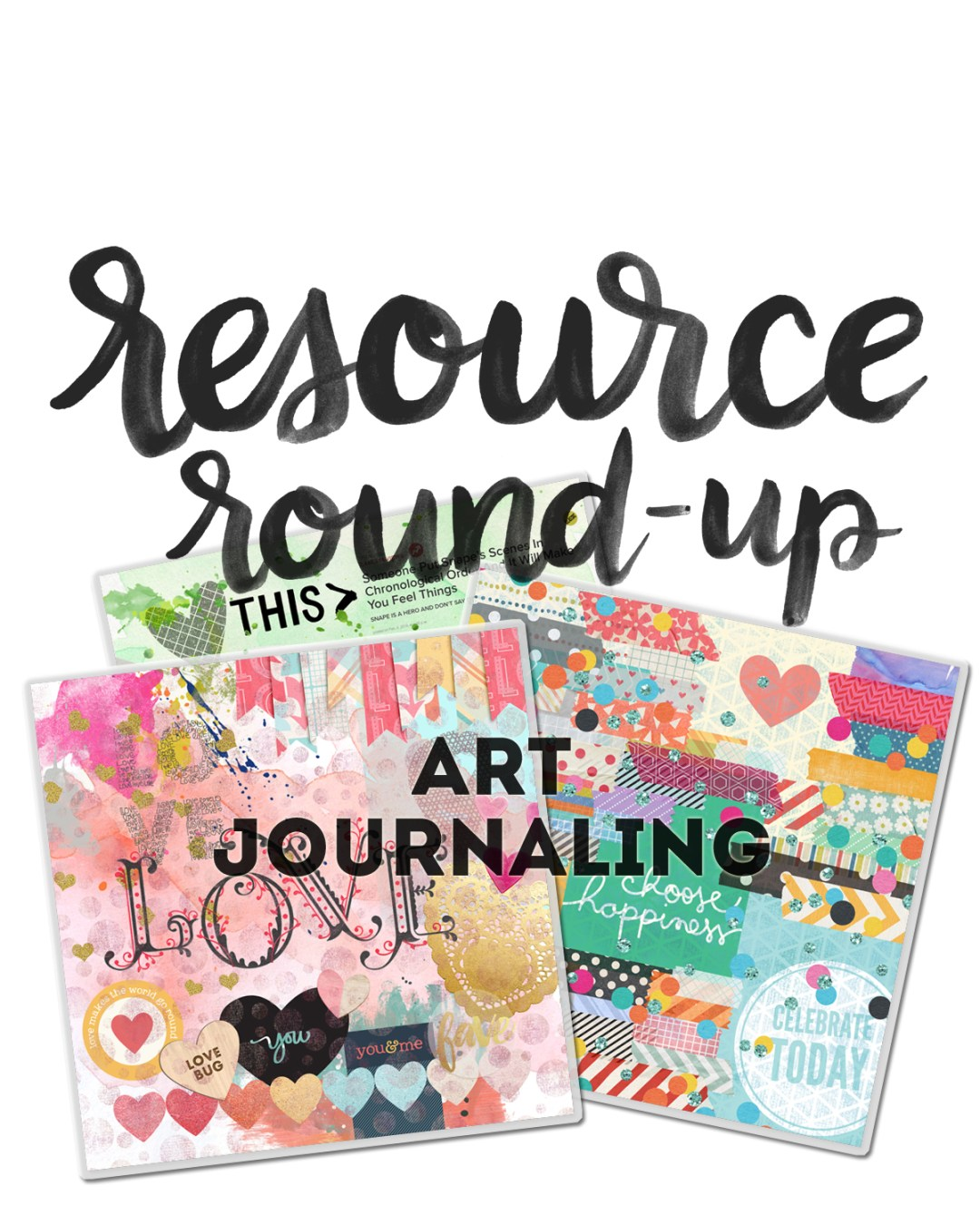 Art Journaling Resources - www.randomolive.com