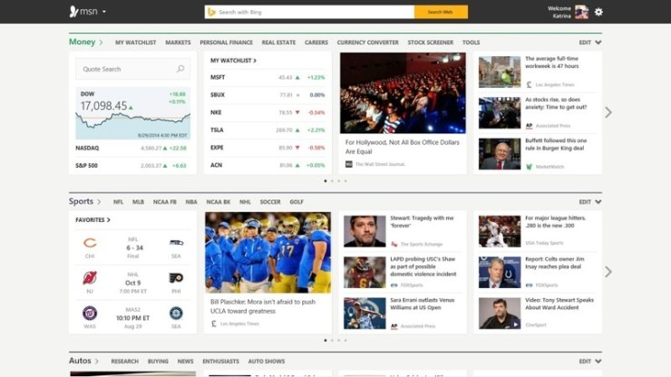 MSN Preview 2014