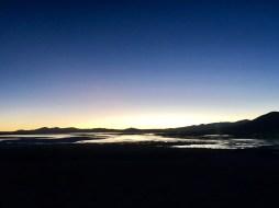 Sunrise at Laguna Chalviri