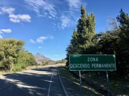 Supposedly a 'zone of permanent descent'. So why am I pedalling uphill?