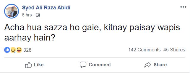 syed ali raza abidi facebook