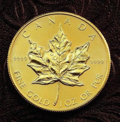1 oz Gold canadian maple - Photo TomD77_Flickr