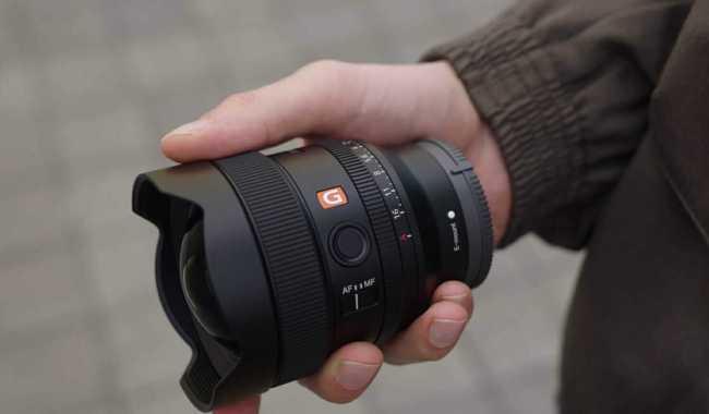 Sony 14mm F1.8 GM Lens 460grams