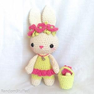 Crochet Festive Bunny