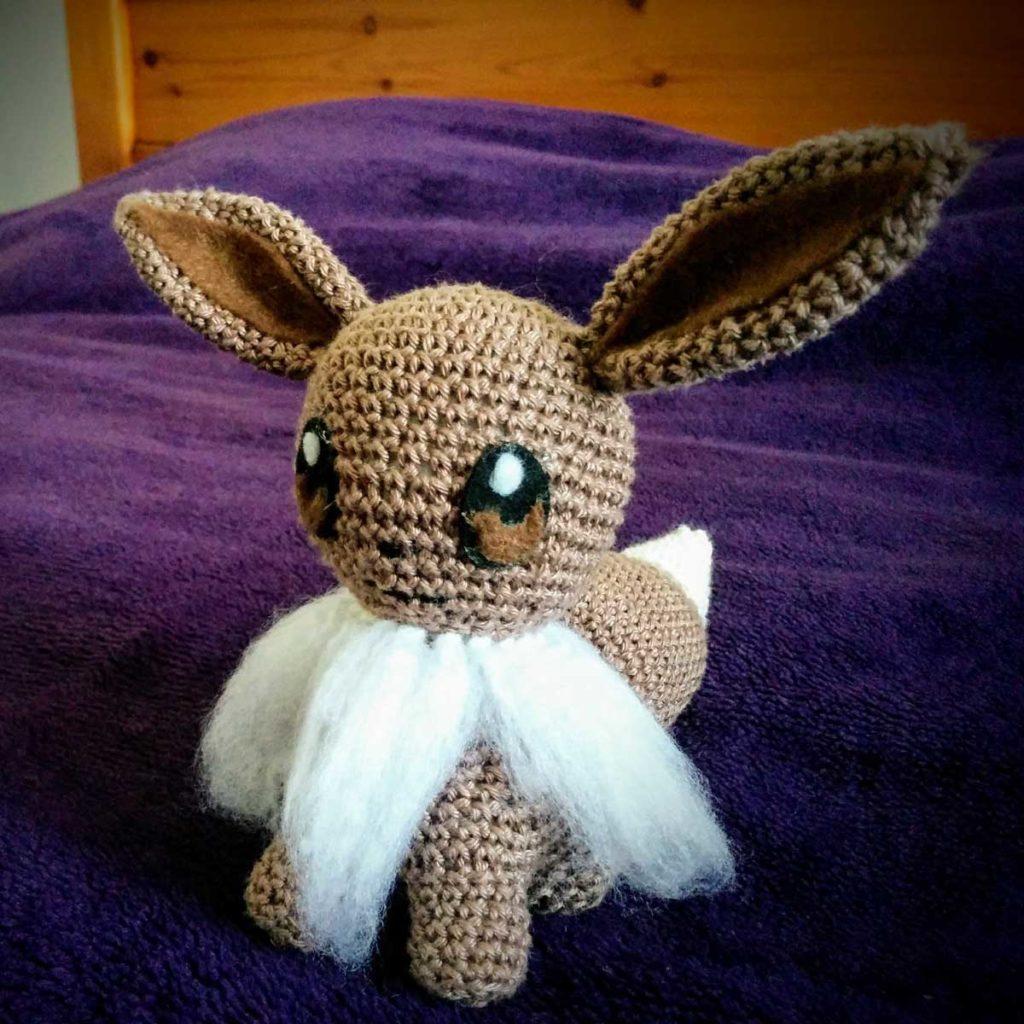 Eevee Pokemon Crochet Pattern   1024x1024