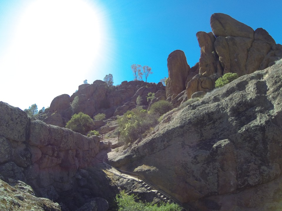 A beautiful day hiking at Pinnacles National Park