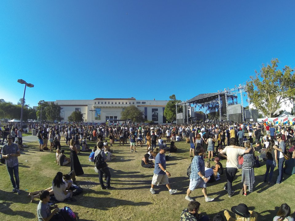 The Lawn Stage at FYF Fest 2014