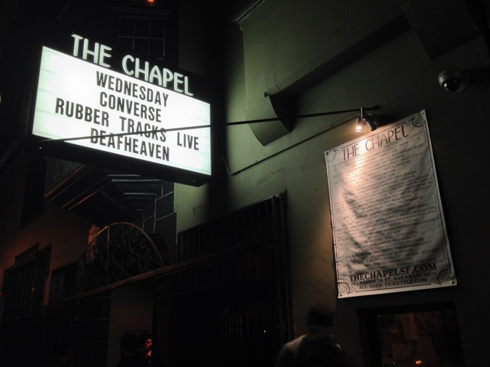 Deafheaven at The Chapel in SF