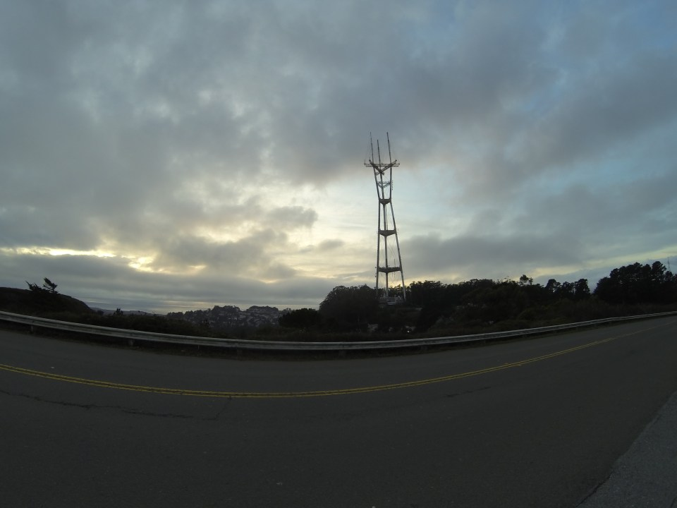 Sutro Tower standing tall