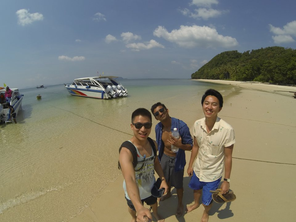 Fun day exploring Phi Phi Islands with the crew!