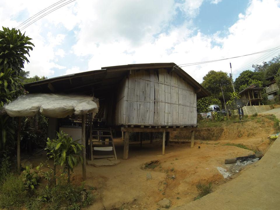 Hut at Karen tribe village near Doi Inthanon