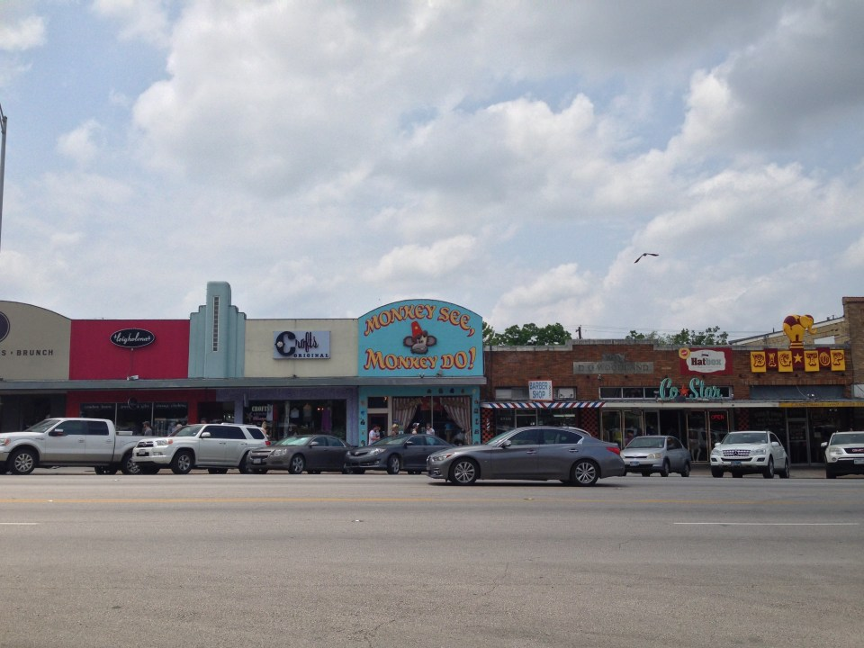 The cool shops of SoCo in Austin, Texas