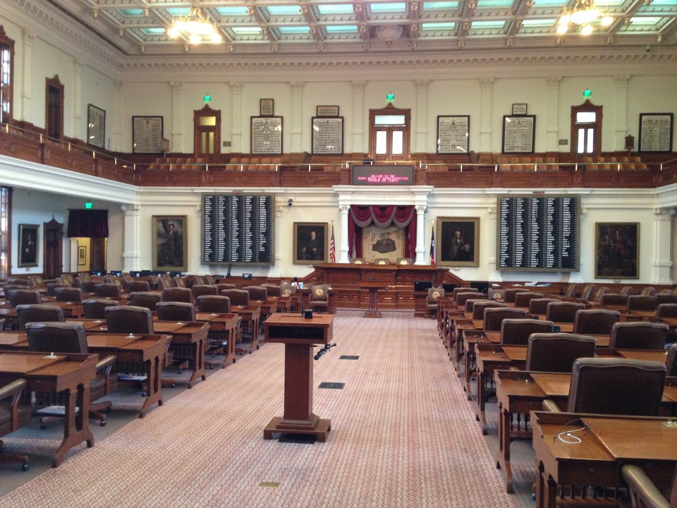 House Chamber in Texas State Capitol