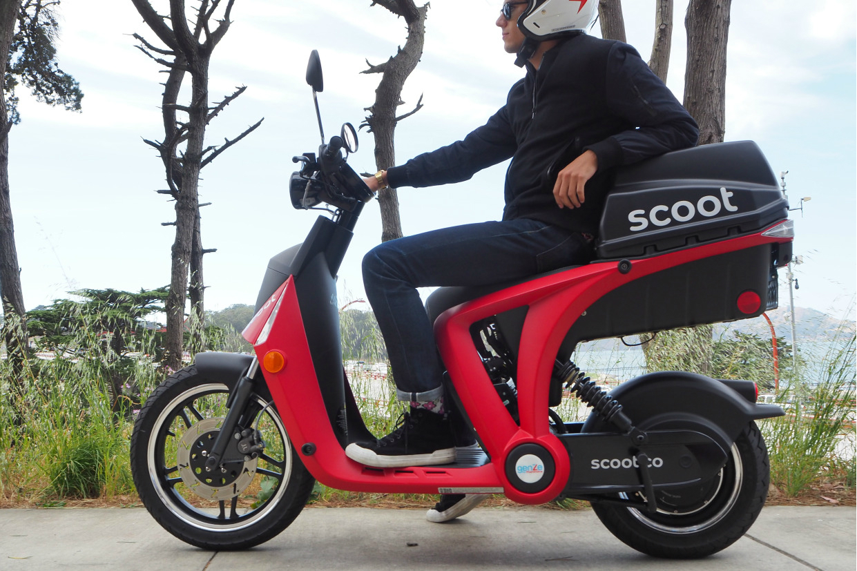 Scooter Rental San Francisco >> Scoot Electric Scooter Rentals In San Francisco Random Tidbits Of