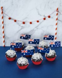 australia day lamingtons cupcakes