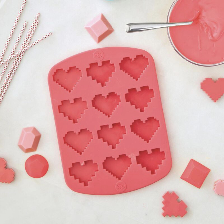 heart shaped candy mold